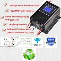 MPPT Charge Controller 65A 12V/24V/36V/48V protects Li battery